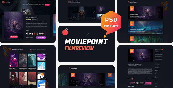 FUSE layout Theme For wowonder Movies plugin